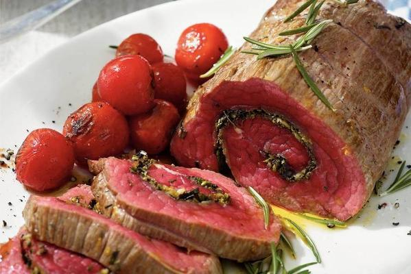 role of roast beef with rosemary