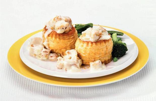 patties with vegetarian ragout