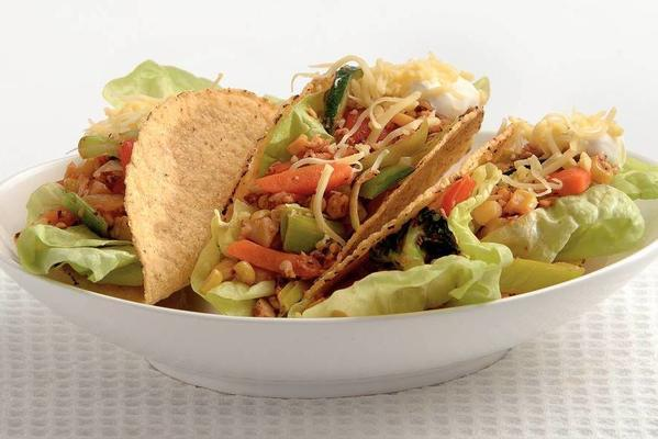 vega-tacos with cheese