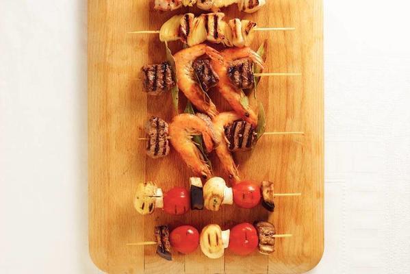 eggplant with mushroom and tomato