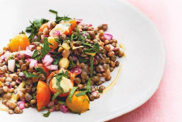 gwyneth paltrows lentil salad