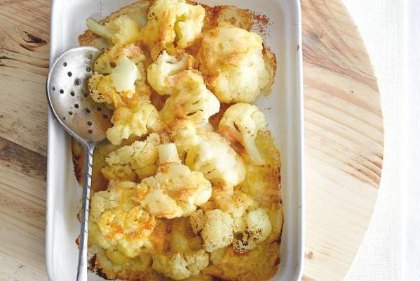 cauliflower with vacherin mont d'or