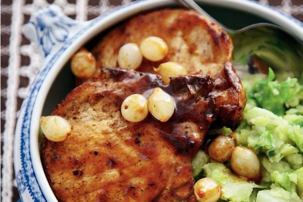 belgian stoemp with pork chops