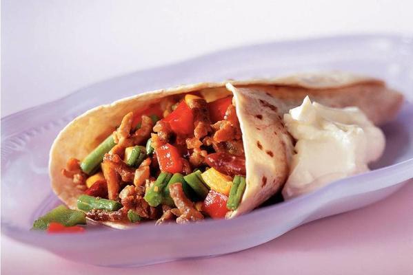Mexican wrap tortilla