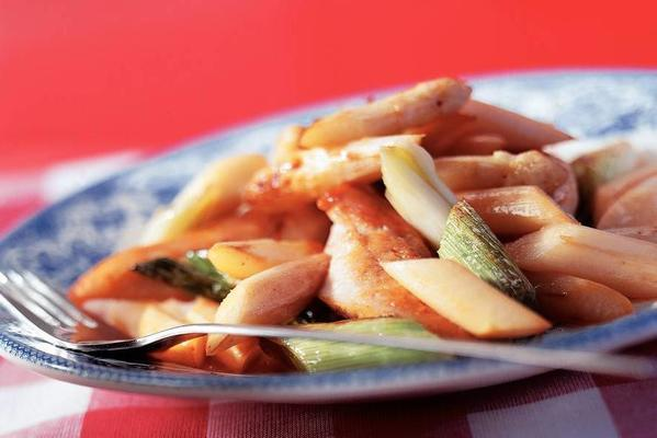 asparagus with chicken