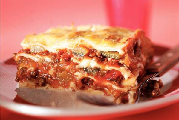 Lasagna with Ratatouille