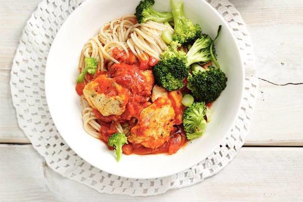 Italian chicken dish with broccoli