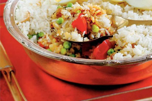 rice dish with eggs