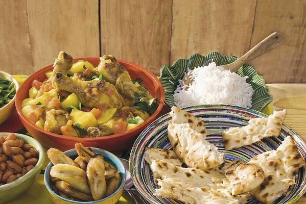 Surinamese curry chicken