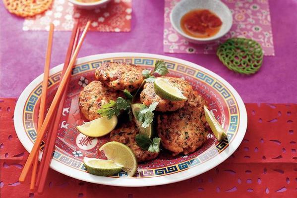 spicy thai fish cakes