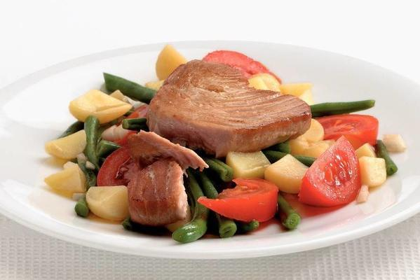 tuna salad with balsamic dressing