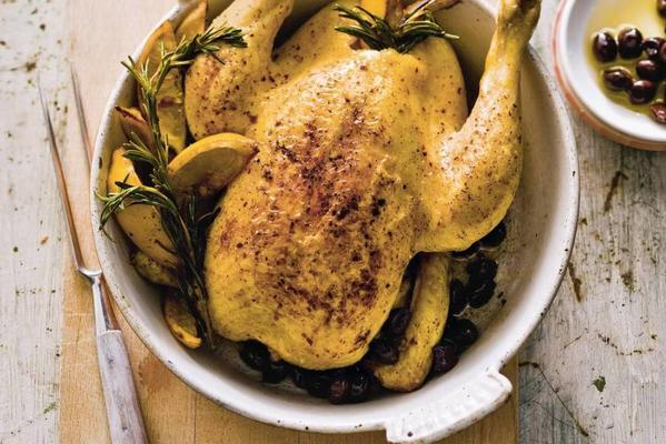 chicken with olives and rosemary