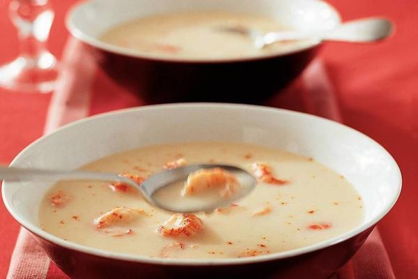light-bound fish soup with crayfish