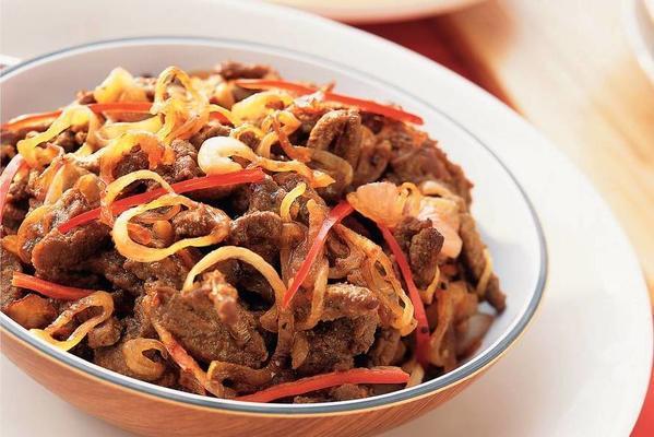dengdeng pedis - spicy beef