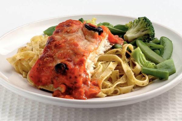 cod with pesto paste