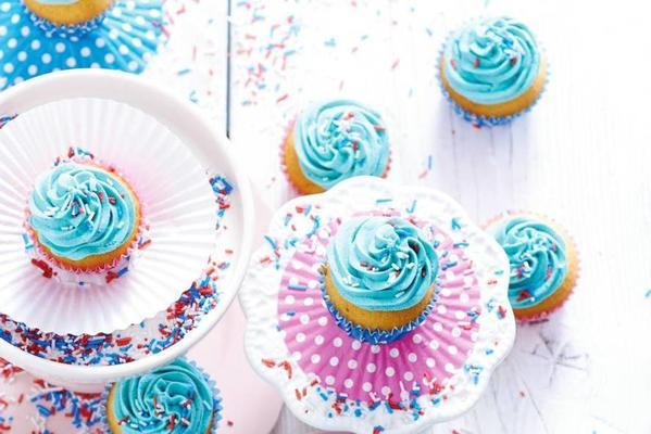 mini cupcakes with anise