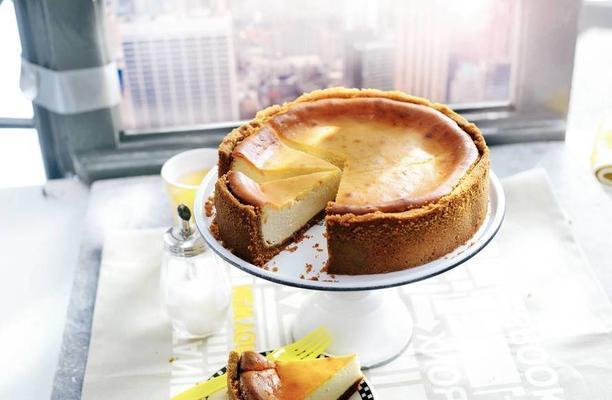 creamy new york cheesecake