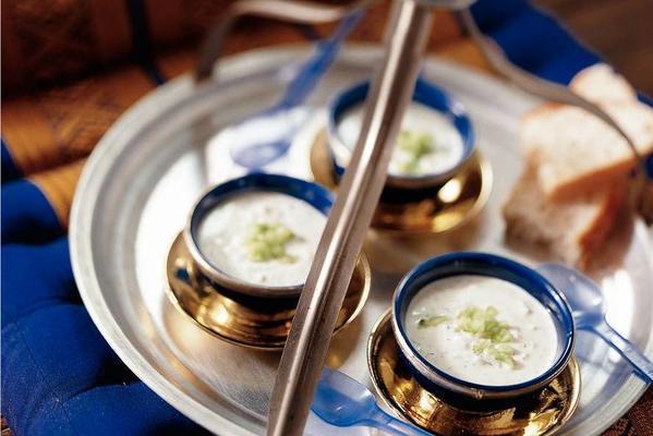yogurt-cucumber soup (cacik)