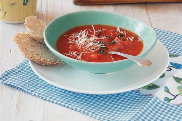 basic recipe fresh tomato soup