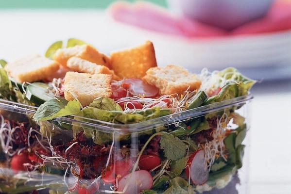 spring-layer salad