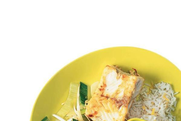 coalfish with chinese vegetables