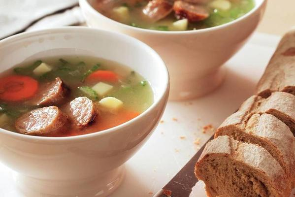 stuffed vegetable meal soup