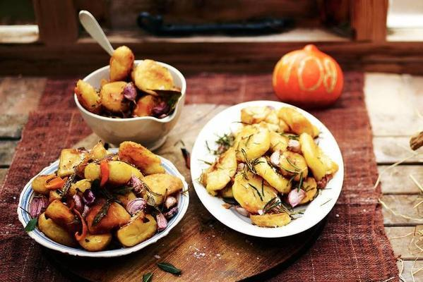 perfectly roasted potatoes (3 flavor combinations)