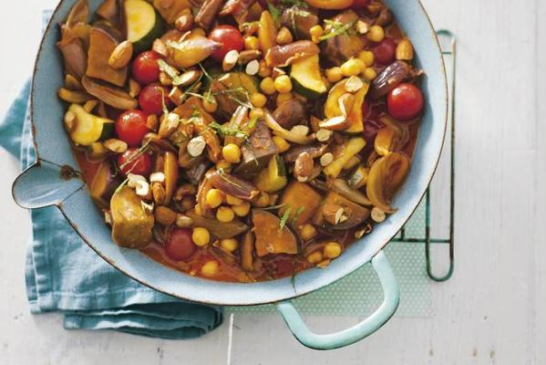 vegetable stew with pearl couscous