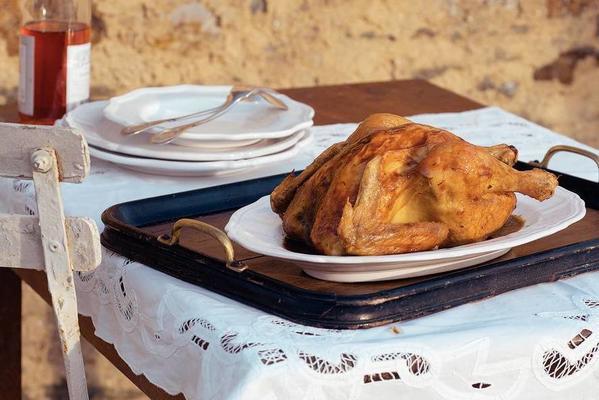 fried chicken with tarragon