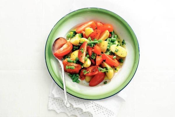 tomato-kriel salad
