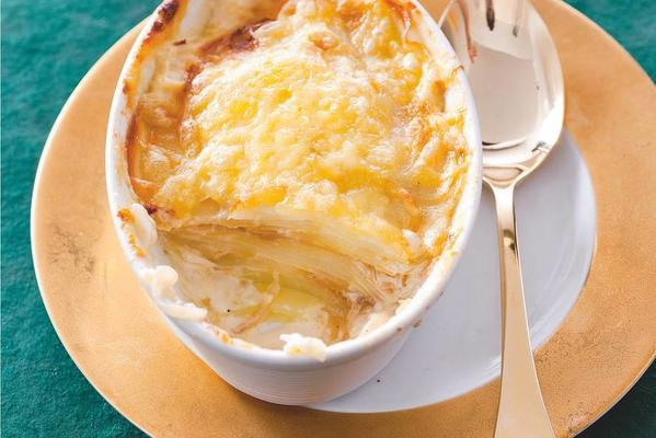 potato gratin with sweet onion