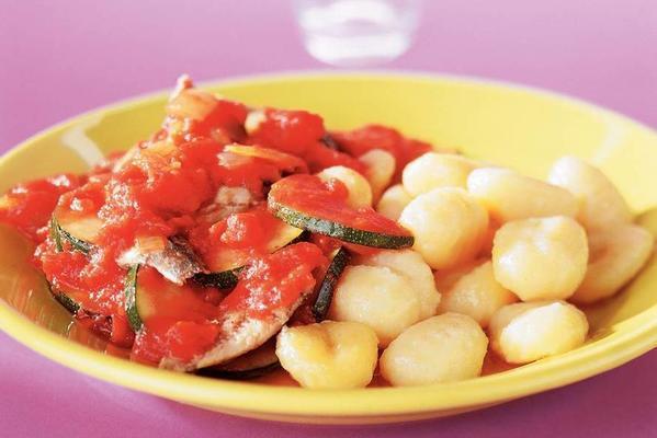 gnocchi with sardine sauce