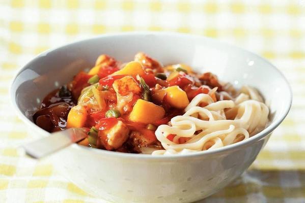 Chinese stir-fry dish