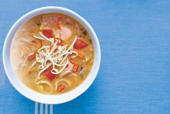 Indonesian peanut-soup