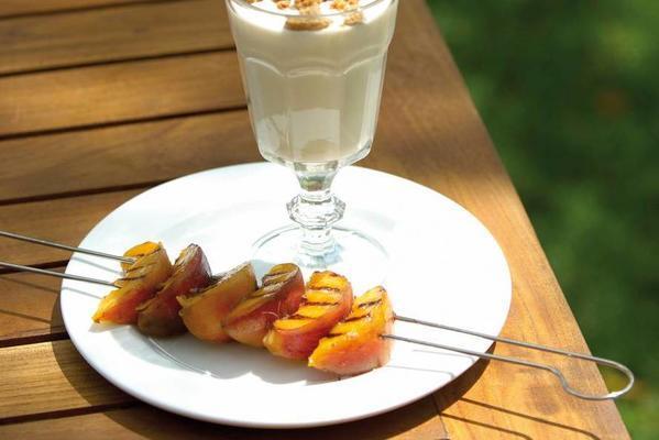 peach skewer