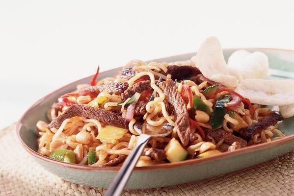 stir-fried steak in pepper sauce