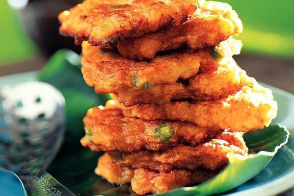 fried shrimp cakes