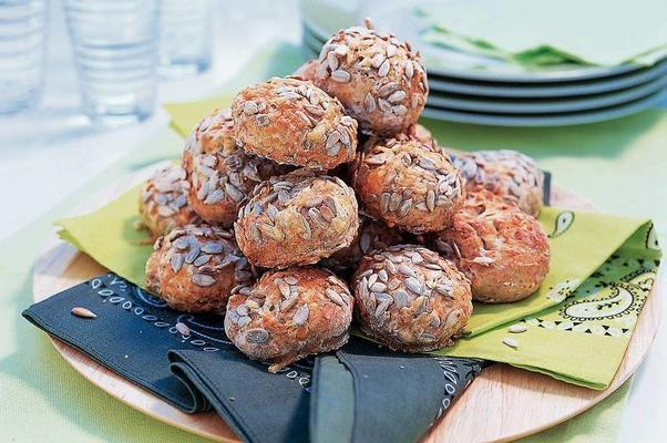 scones with sunflower seeds