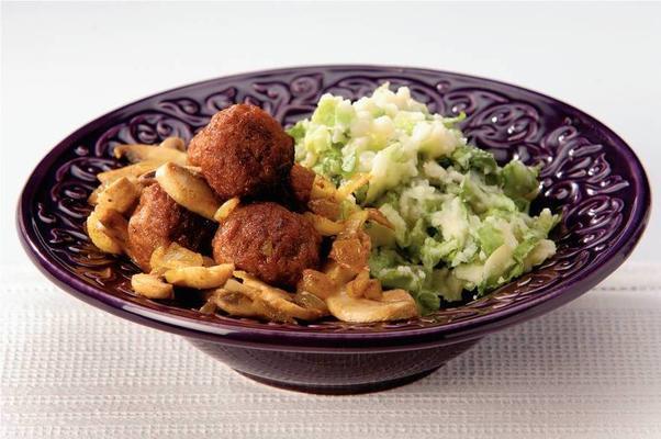 vegetarian endive curry stew