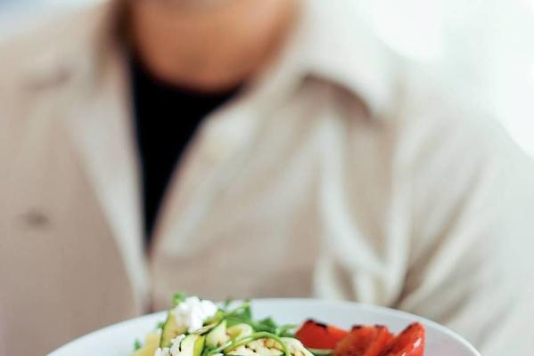 tagliatelle with grilled vegetables