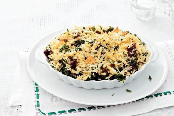 spicy fried kale