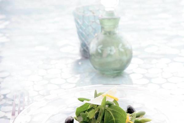 mini-bean salad