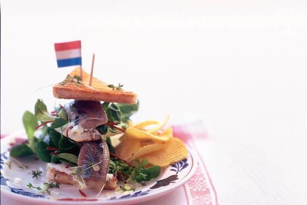 Dutch club sandwich