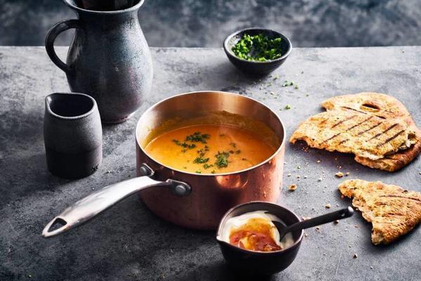 indian sweet-potato soup