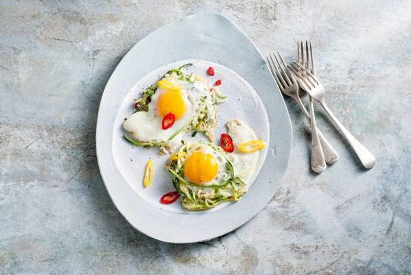 vegetables with egg