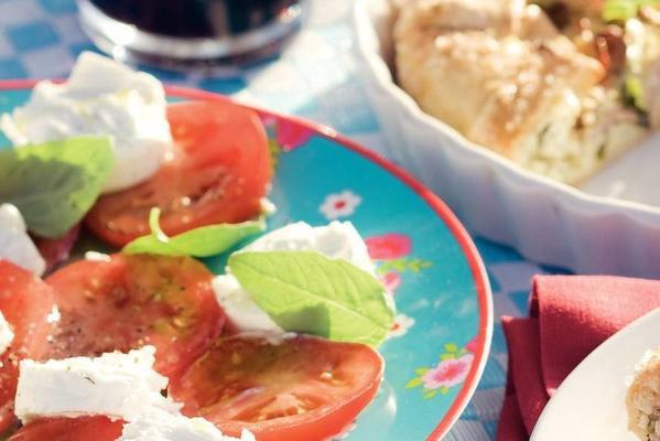 tomato-goat cheese salad