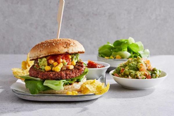 fresh vega burger