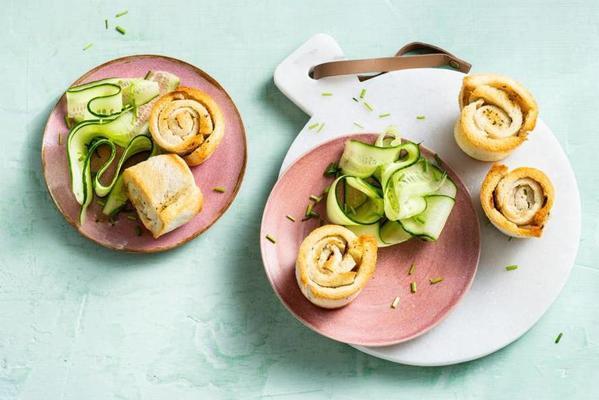 herb butter rolls