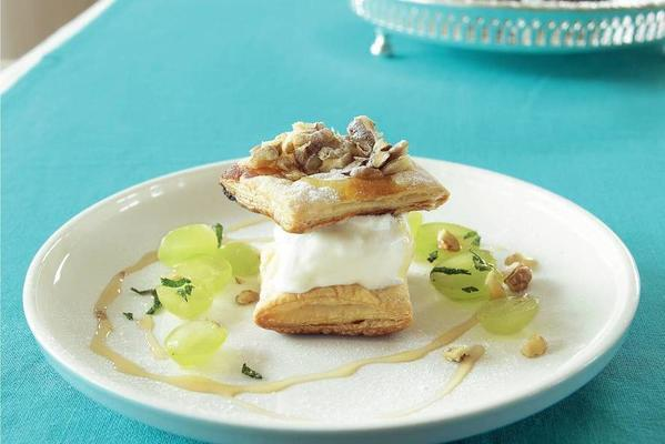 puff pastry turrets