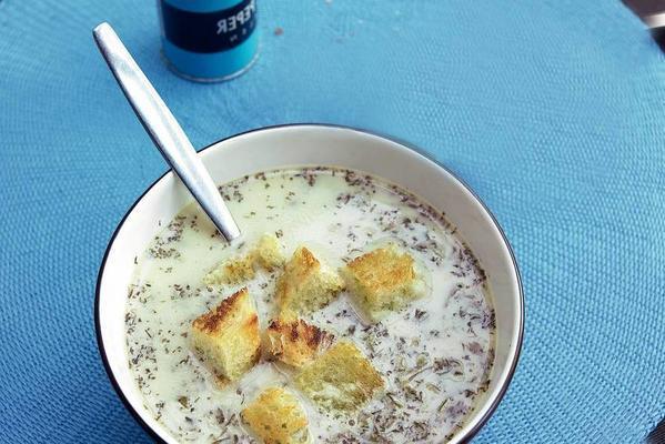 spinach chervil soup